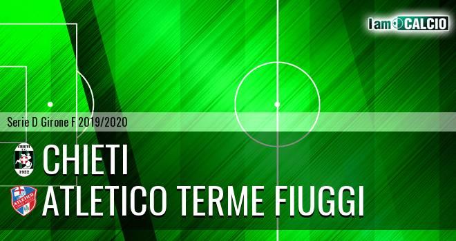 Chieti - Atletico Terme Fiuggi