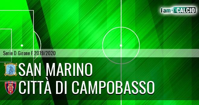 Cattolica Calcio SM - Città di Campobasso 1-1. Cronaca Diretta 10/11/2019
