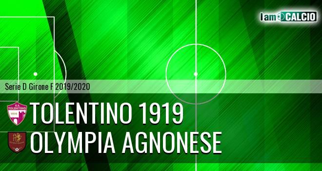 Tolentino 1919 - Olympia Agnonese