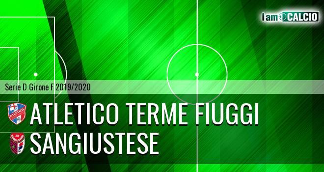 Atletico Terme Fiuggi - Sangiustese