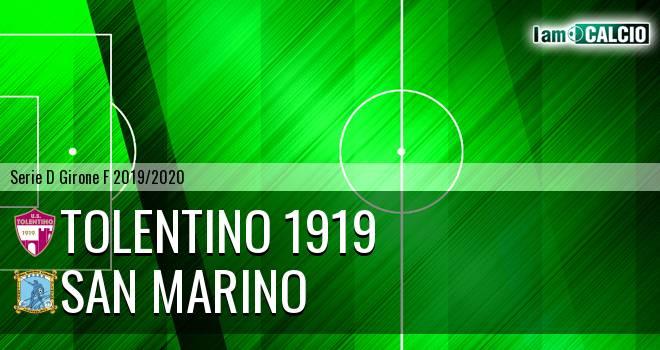 Tolentino 1919 - Cattolica Calcio SM