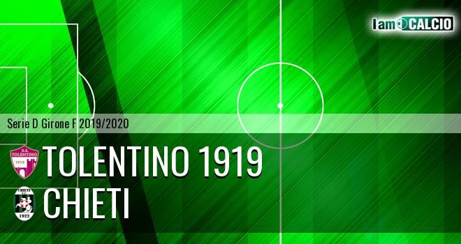 Tolentino 1919 - Chieti