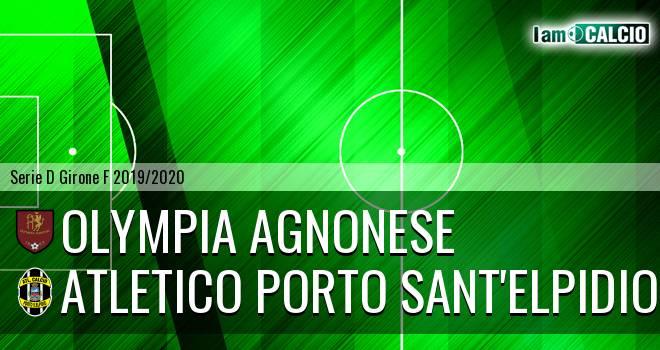 Olympia Agnonese - Atletico Porto Sant'Elpidio