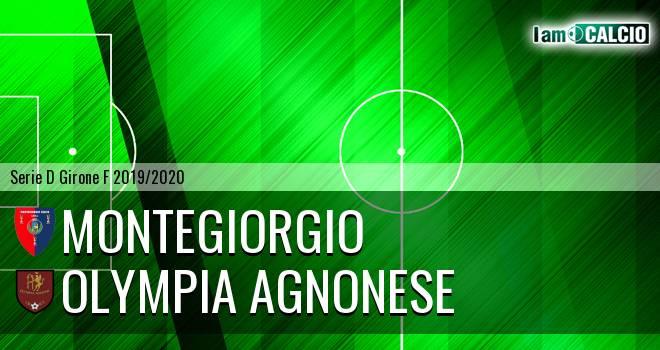 Montegiorgio - Olympia Agnonese