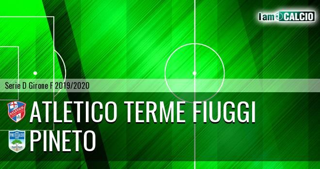 Atletico Terme Fiuggi - Pineto