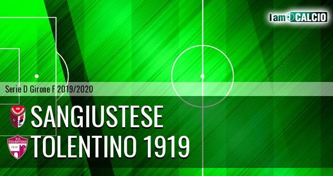 Sangiustese - Tolentino 1919