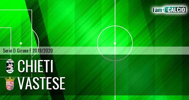 Chieti - Vastese 0-2. Cronaca Diretta 06/01/2020