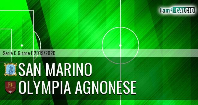 Cattolica Calcio SM - Olympia Agnonese