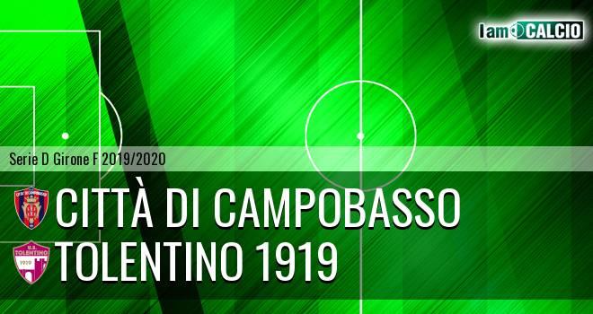 Città di Campobasso - Tolentino 1919