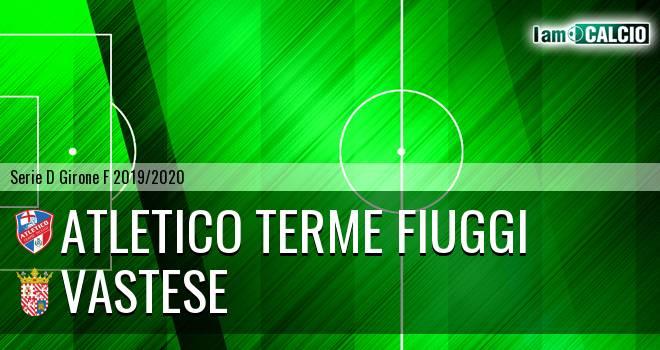 Atletico Terme Fiuggi - Vastese