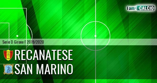 Recanatese - Cattolica Calcio SM