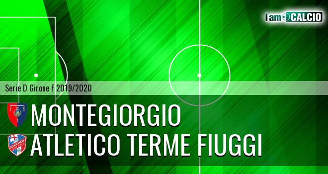 Montegiorgio - Atletico Terme Fiuggi