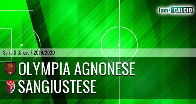 Olympia Agnonese - Sangiustese