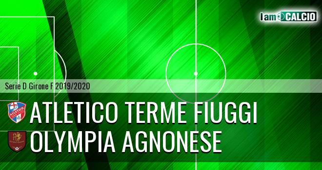 Atletico Terme Fiuggi - Olympia Agnonese