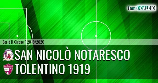 San Nicolò Notaresco - Tolentino 1919