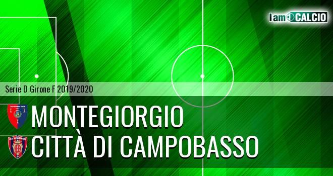Montegiorgio - Città di Campobasso 0-1. Cronaca Diretta 23/02/2020