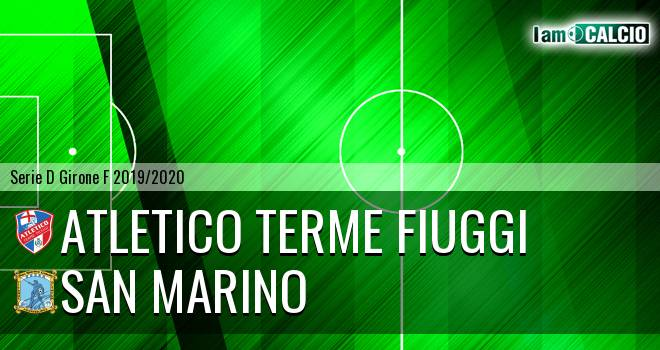 Atletico Terme Fiuggi - Cattolica Calcio SM