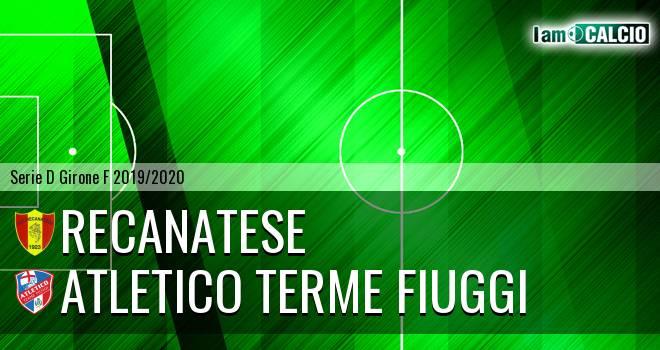 Recanatese - Atletico Terme Fiuggi