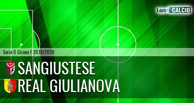Sangiustese - Real Giulianova