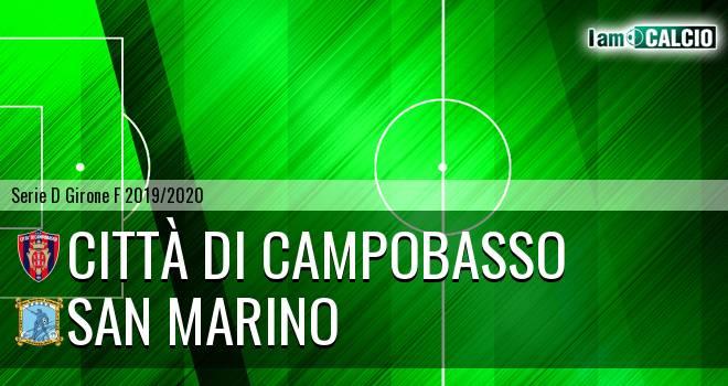 Città di Campobasso - Cattolica Calcio SM