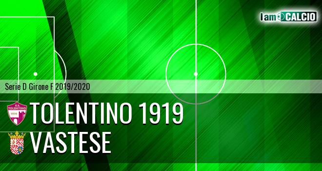Tolentino 1919 - Vastese