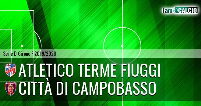 Atletico Terme Fiuggi - Città di Campobasso