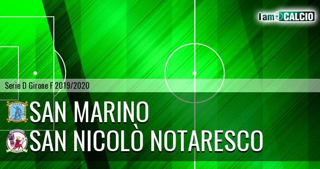 Cattolica Calcio SM - San Nicolò Notaresco