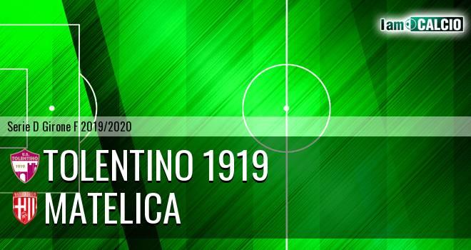 Tolentino 1919 - Matelica