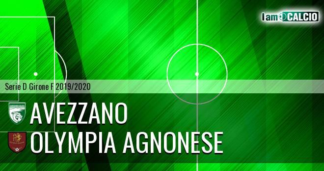 Avezzano - Olympia Agnonese
