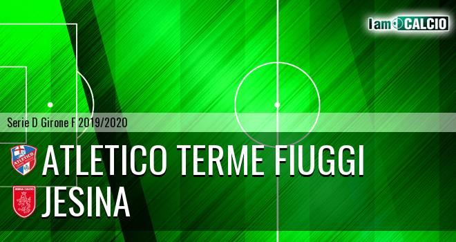 Atletico Terme Fiuggi - Jesina