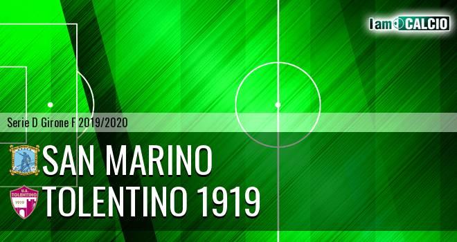 Cattolica Calcio SM - Tolentino 1919