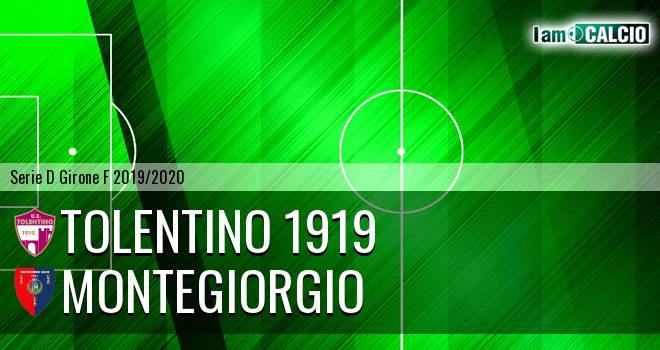 Tolentino 1919 - Montegiorgio