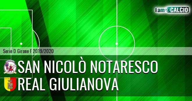 San Nicolò Notaresco - Real Giulianova