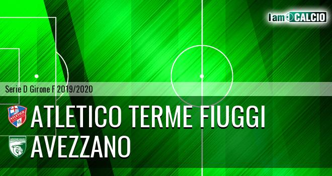 Atletico Terme Fiuggi - Avezzano