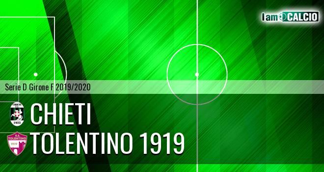 Chieti - Tolentino 1919