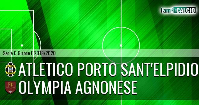 Atletico Porto Sant'Elpidio - Olympia Agnonese