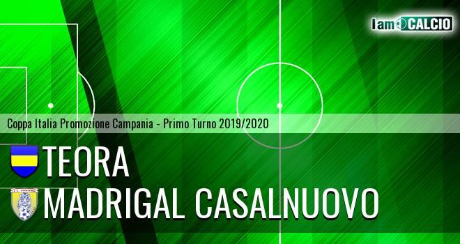 Real San Martino Valle Caudina - Madrigal Casalnuovo