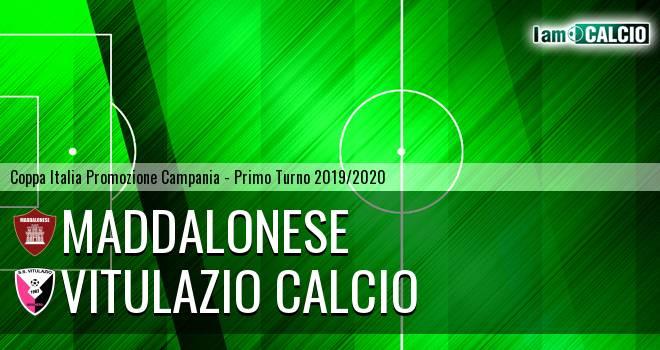 Maddalonese - Vitulazio Calcio