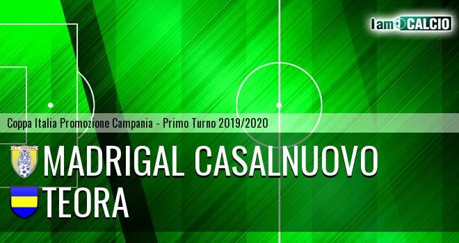 Madrigal Casalnuovo - Real San Martino Valle Caudina