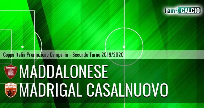 Maddalonese - Madrigal Casalnuovo