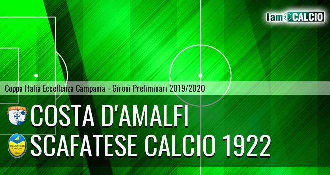 Costa d'Amalfi - Scafatese Calcio 1922