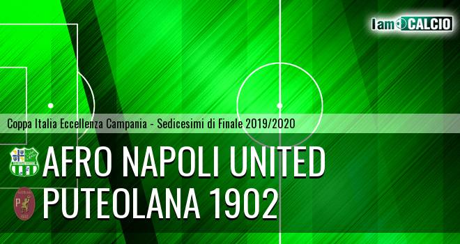 Afro Napoli United - Puteolana 1902