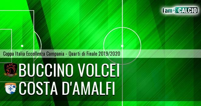 Buccino Volcei - Costa d'Amalfi 2-2. Cronaca Diretta 06/11/2019