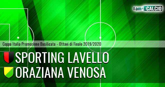 Sporting Lavello - Oraziana Venosa