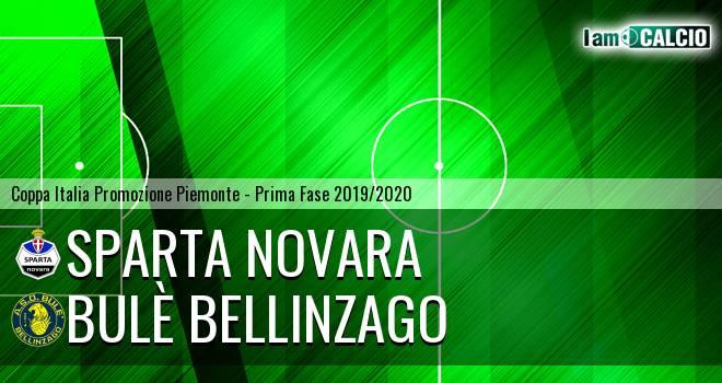 Sparta Novara - Bulè Bellinzago