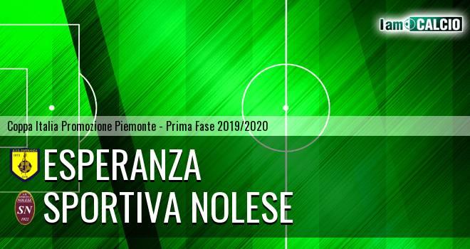 Esperanza - Sportiva Nolese