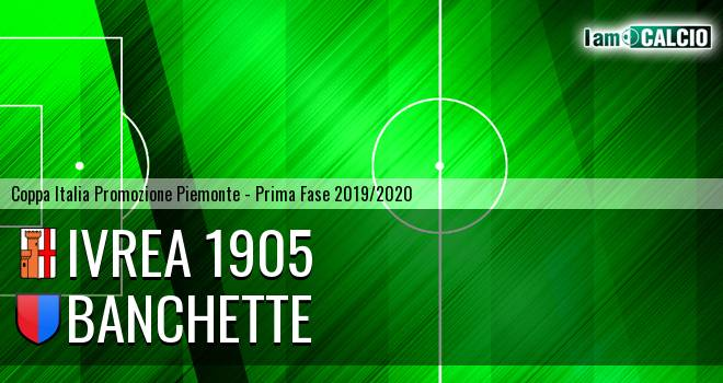 Ivrea 1905 - Banchette