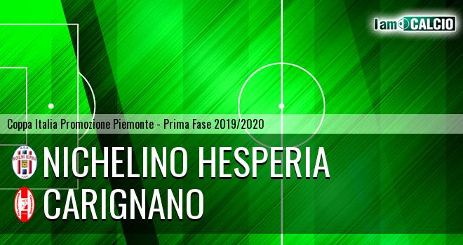 Nichelino Hesperia - Carignano