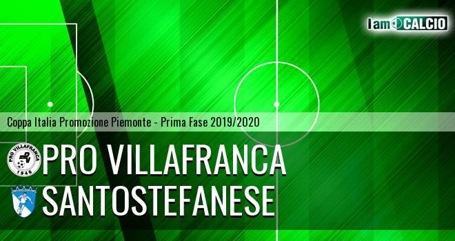 Pro Villafranca - Santostefanese