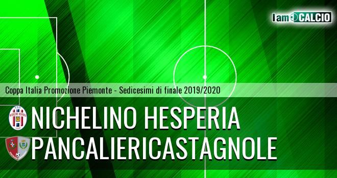 Nichelino Hesperia - PancalieriCastagnole